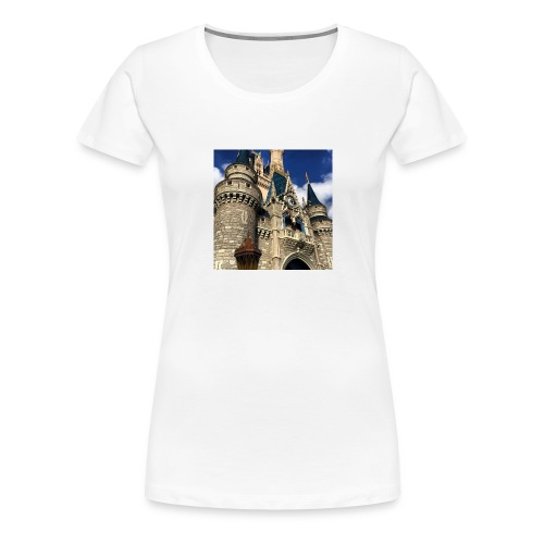 Cinderella's Castle - Women's Premium T-Shirt