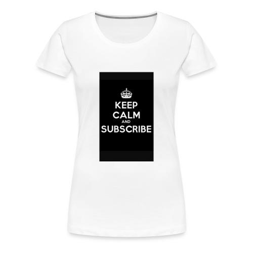 Keep calm merch - Women's Premium T-Shirt