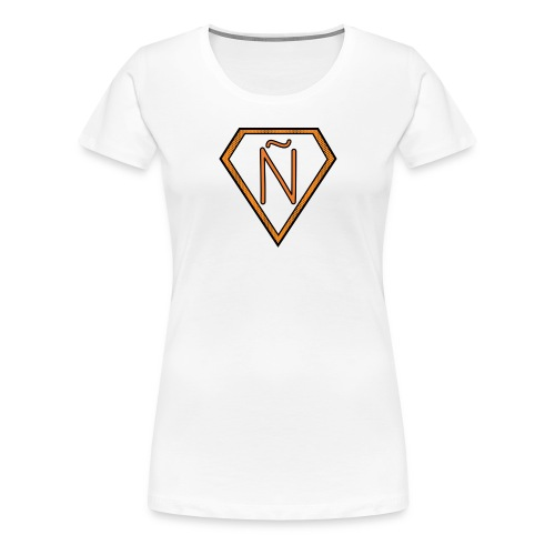 Ñ Orange - Women's Premium T-Shirt