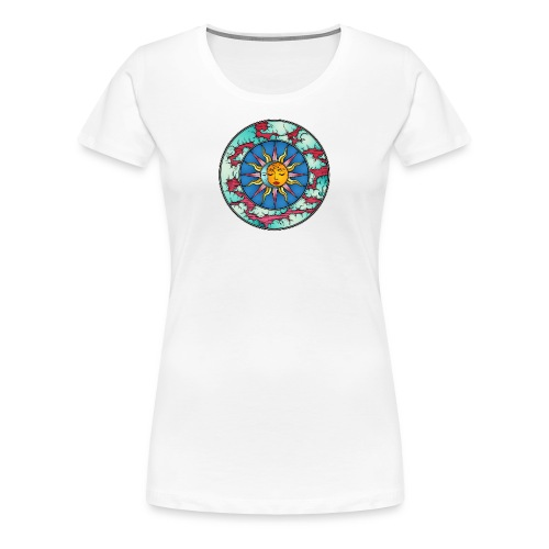 Moon Sun - Women's Premium T-Shirt