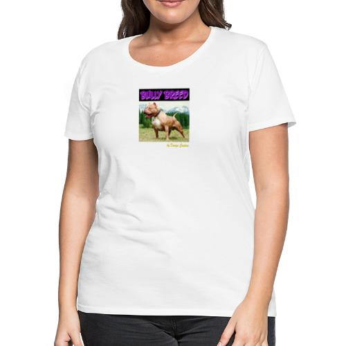 BULLY BREED PURPLE - Women's Premium T-Shirt
