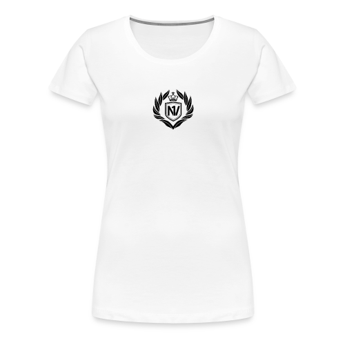 Number One Village Logo Black - Women's Premium T-Shirt