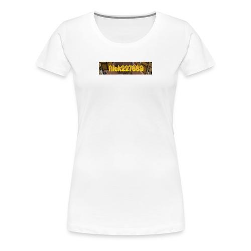 Nick227889 Logo! - Women's Premium T-Shirt