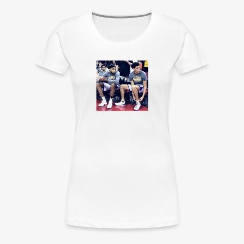 Brandon Ingram and Lonzo Ball - Women's Premium T-Shirt