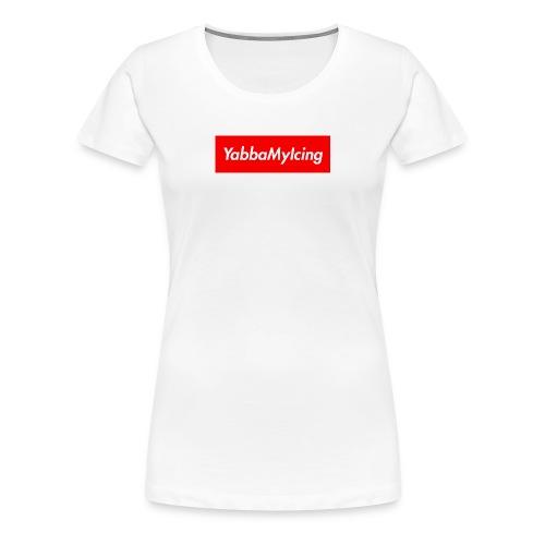 Yabba My Icing Supreme Logo - Women's Premium T-Shirt