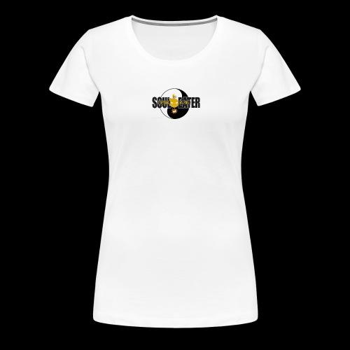Cool Soul Eater Yin And Yang - Women's Premium T-Shirt