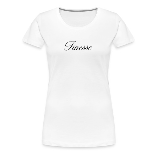 Finesse - Women's Premium T-Shirt
