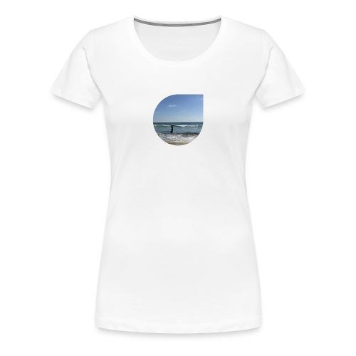 Floating sand - Women's Premium T-Shirt