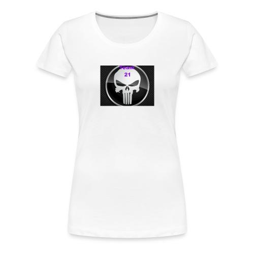 Team 21 white - Women's Premium T-Shirt