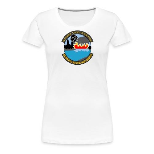 Burning River Squadron - Women's Premium T-Shirt