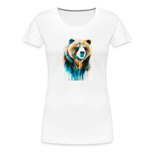 grizzly bear - Women's Premium T-Shirt