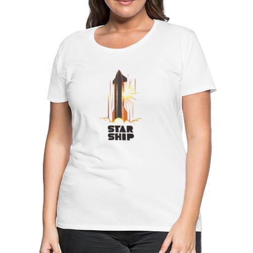 Star Ship Mars - Light - Women's Premium T-Shirt