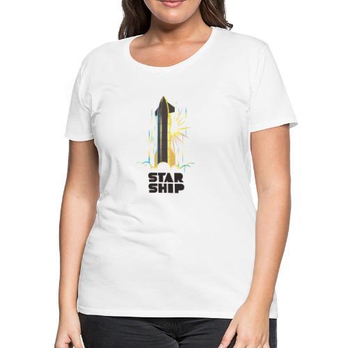 Star Ship Earth - Light - Women's Premium T-Shirt