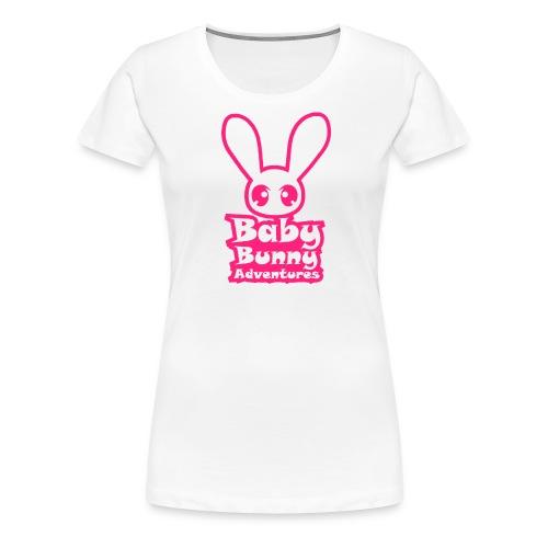 babybunnyadventureslogo - Women's Premium T-Shirt
