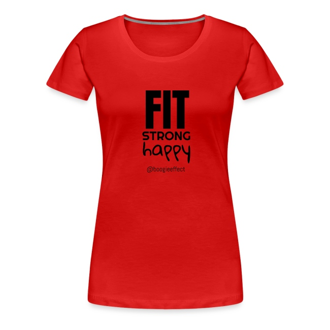 fit strong happy black