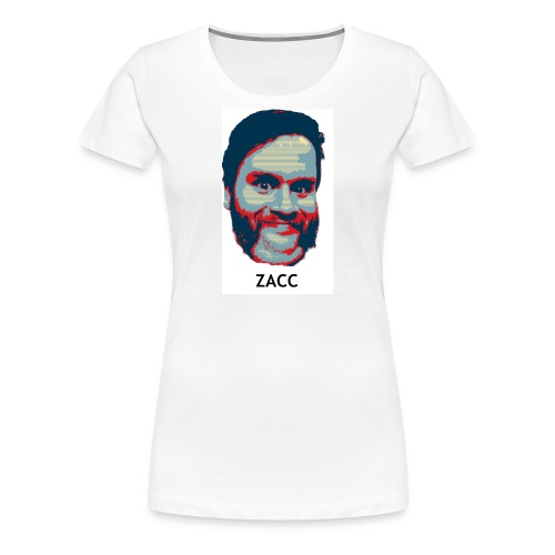 hope zacc - Women's Premium T-Shirt