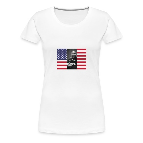 Martin Luther King Jr Day's Graphic Novel - Women's Premium T-Shirt