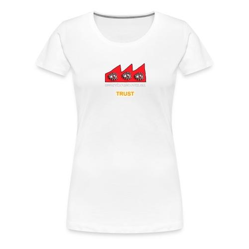 trust onBlack - Women's Premium T-Shirt