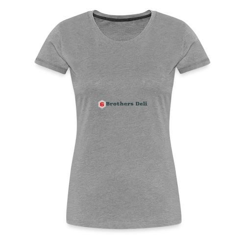 6 Brothers Deli - Women's Premium T-Shirt