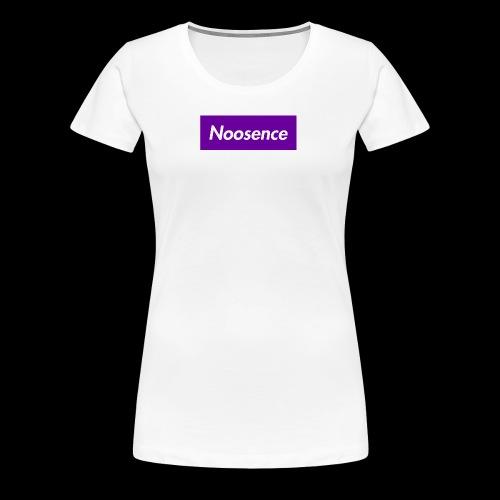 Noosence Logo purple - Women's Premium T-Shirt