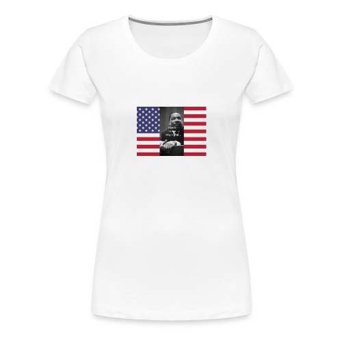 Martin Luther King Jr Day's Graphic Novel - Women's Premium T-Shirt