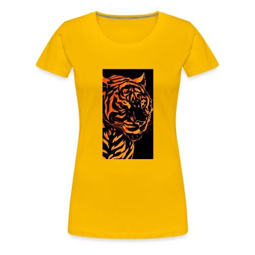 Fire tiger - Women's Premium T-Shirt
