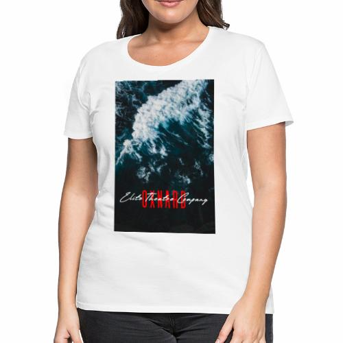 Oxnard Waves - Women's Premium T-Shirt