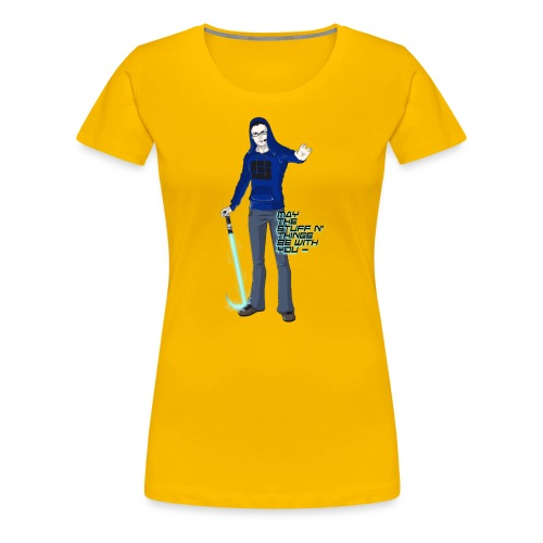 TheJumpingFox for Zoey png - Women's Premium T-Shirt