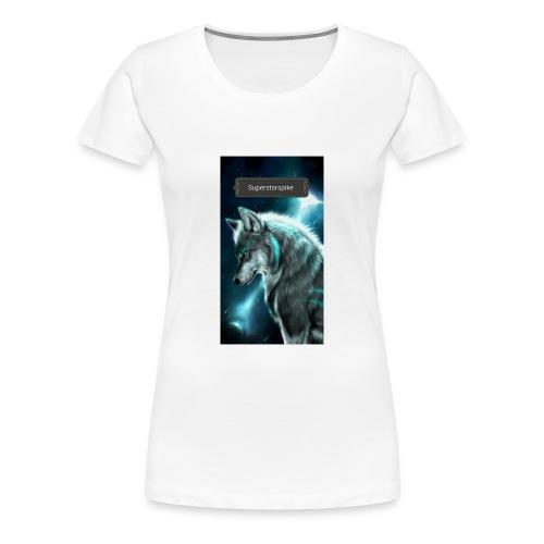 Superstarspike on youtube - Women's Premium T-Shirt