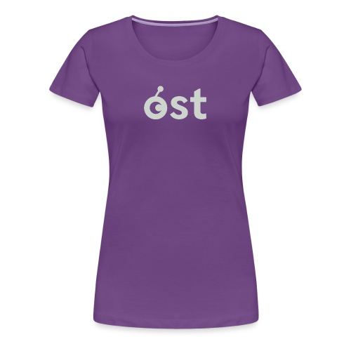 ost logo in grey - Women's Premium T-Shirt