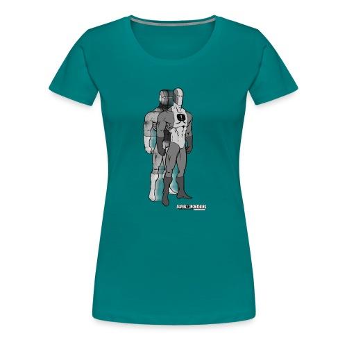Superhero 9 - Women's Premium T-Shirt