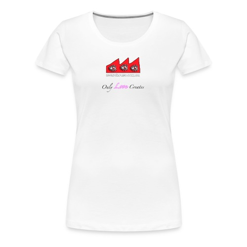 LoveCreates onWhite - Women's Premium T-Shirt