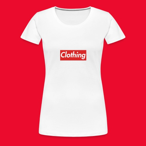 clothing box logo - Women's Premium T-Shirt