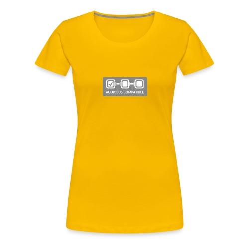 Badge input - Women's Premium T-Shirt