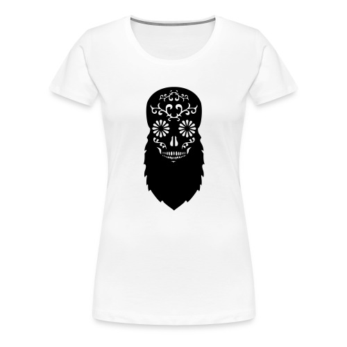 Bearded skull - Women's Premium T-Shirt