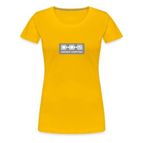 Badge output - Women's Premium T-Shirt