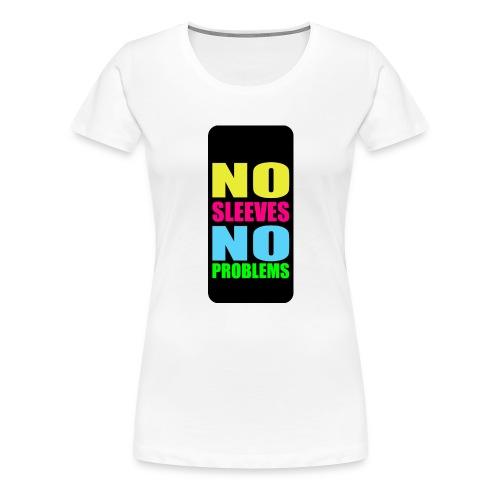 neonnosleevesiphone5 - Women's Premium T-Shirt