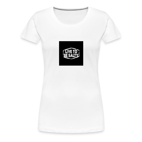 Luve to be salty merch - Women's Premium T-Shirt