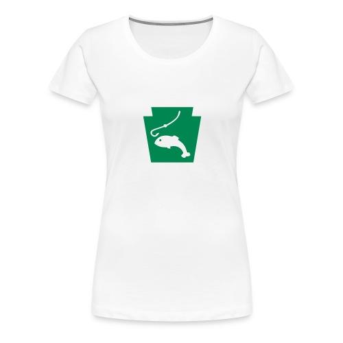 Pennsylvania Fishing Keystone PA - Women's Premium T-Shirt