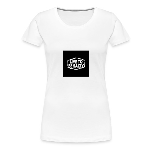 Luve to be salty merch - Women's Premium T-Shirt