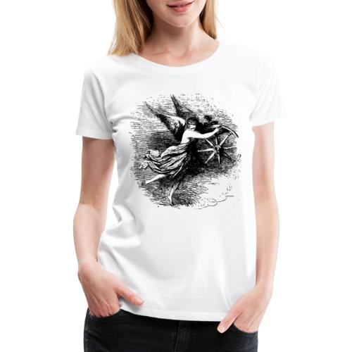 Angel at the helm - Women's Premium T-Shirt