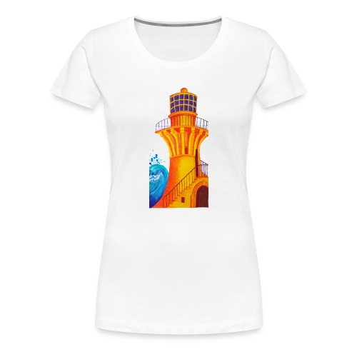 Golden Light - Women's Premium T-Shirt