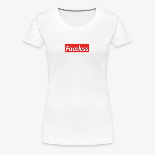 Faceless - Women's Premium T-Shirt