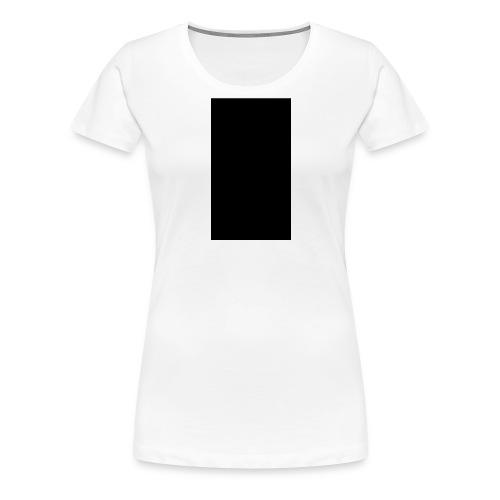 Black Rectangle - Women's Premium T-Shirt
