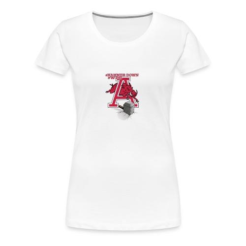 HAMMER DOWN - Women's Premium T-Shirt