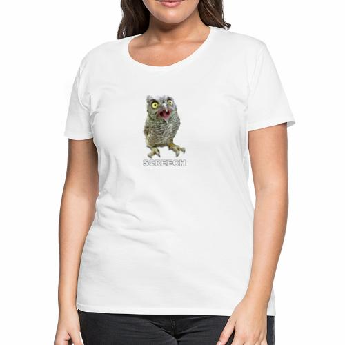 Screech Owl Patient at WildCare - Women's Premium T-Shirt