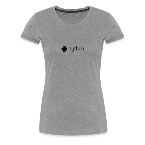 python logo - Women's Premium T-Shirt