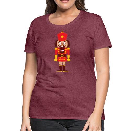 A Christmas nutcracker is a tooth cracker - Women's Premium T-Shirt