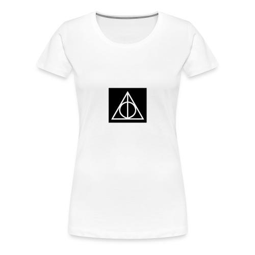 Harry Potter Deathly Hallows Mark - Women's Premium T-Shirt