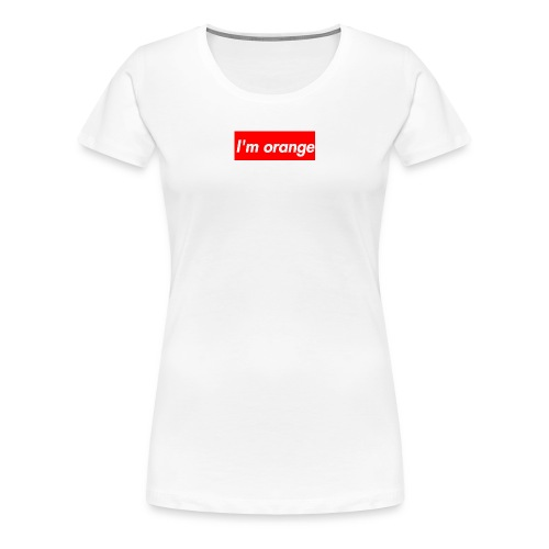 I m orange - Women's Premium T-Shirt